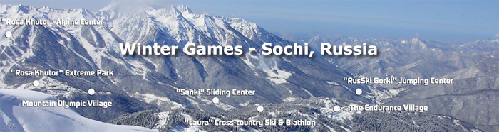 Sochi 2014 Winter Games Tickets and Schedule